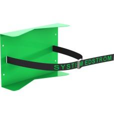 Gasfles houder met vastzetband - enkele houder (200x300 mm)
