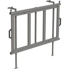 Uitschuifbaar frame verticaal 1250x700