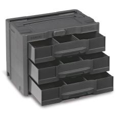 Sortainer T-Loc SYS-Sort IV met 3 laden (incl 2 tussenschotten)