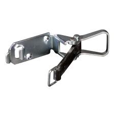 Steelklem met spanrubber 12 mm lang (20-50mm)