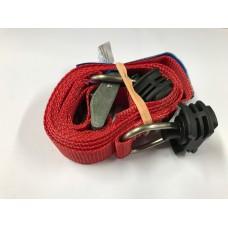 Spanband 2 m  met klemgesp en automotive fitting