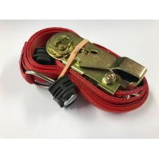 Spanband 3m met ratel en automotive fitt
