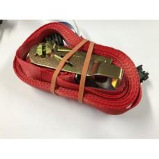 Spanband 1m met ratel en automotive fitting