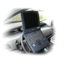 Laptophouder op stuur