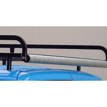 Dakdrager staal zw. poederl. (190 x 129 cm) Citroen Nemo