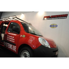 Dakdrager staal zw. poederl. (245 X 129 cm) Renault Kangoo Maxi (WB 3081 mm) L2H1