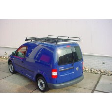 Dakdrager staal zw. poederl. (200 X 120 cm) VW Caddy (WB 2682 mm) L1H1