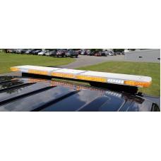Legacy lichtbalk, 1219 mm, Amber, R65 KL1, 4 hoekmodules