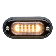 T-ION Mini LED Flitser, Amber, 12V, R65, Ultra laag profiel
