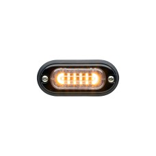 T-ION Mini LED Flitser, Amber, 24V R65, Ultra laag profiel