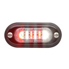 T-ION Mini LED Flitser, Wit, 24V R65, Ultra laag profiel