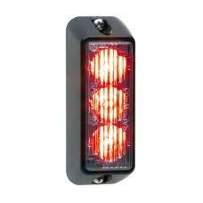 TIR3 LED Flitser, Rood, Verticale montage